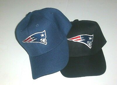 New England Patriots Cap Hat Adjustable NE PATS Curved Pick Your Color/Style - Pats Hat