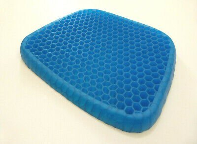 Egg Gel Seat Cushion Chair Pad with Non-Slip Cover  ()