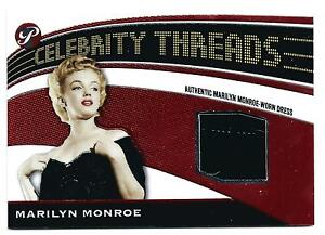 Authentic Marilyn Monroe Worn Dress 2005 Topps Pristine Baseball