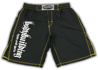 Black Printed Bodybuilding Shorts Workout Gym Clothing C-20
