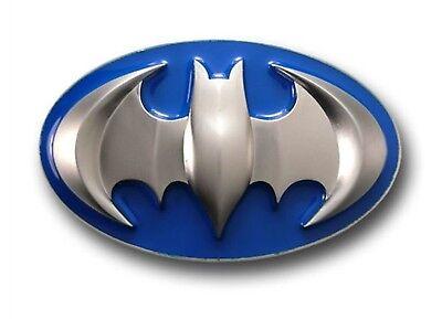 Batman Gürtelschnalle Dc Comics Us Logo Herren Damen Mode Kostüm Metall West (Batman Gürtel Kostüm)
