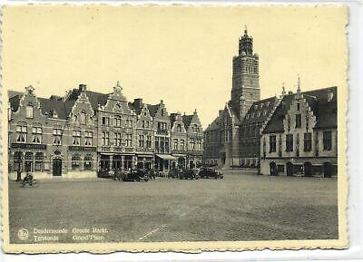 1 Postcard East flanders Dendermonde Groote Markt pcbelgf185