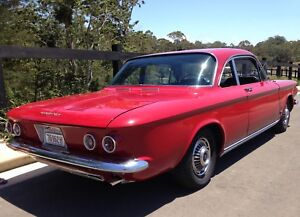 Rare 1963 Chevrolet Corvair Spyder Monza Turbo 900 Coupe Terrigal Gosford Area Preview