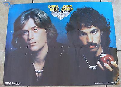 Rare Vintage DARYL HALL & JOHN OATES 1976 RCA RECORDS PROMO POSTER