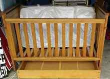 Boori Urbane cot 3 in 1. Includes under draw and mattress. Kingston Beach Kingborough Area Preview