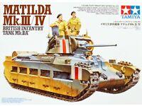 Neu Tamiya 32572-1//48 Britischer Panzer Matilda Mk.III//Iv