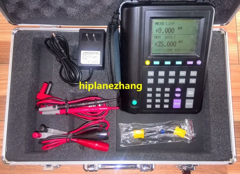 Multifunction Thermocouple RTD Process Calibrator 2in1 DCV Ohm Source Output