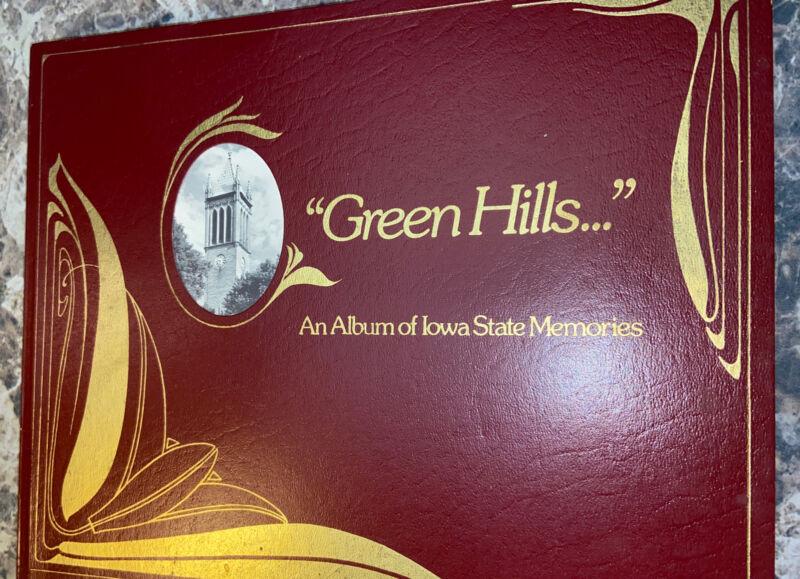 Green Hills, An Album of Iowa State Memories,1975 Paperback Photo Book Hawkeyes