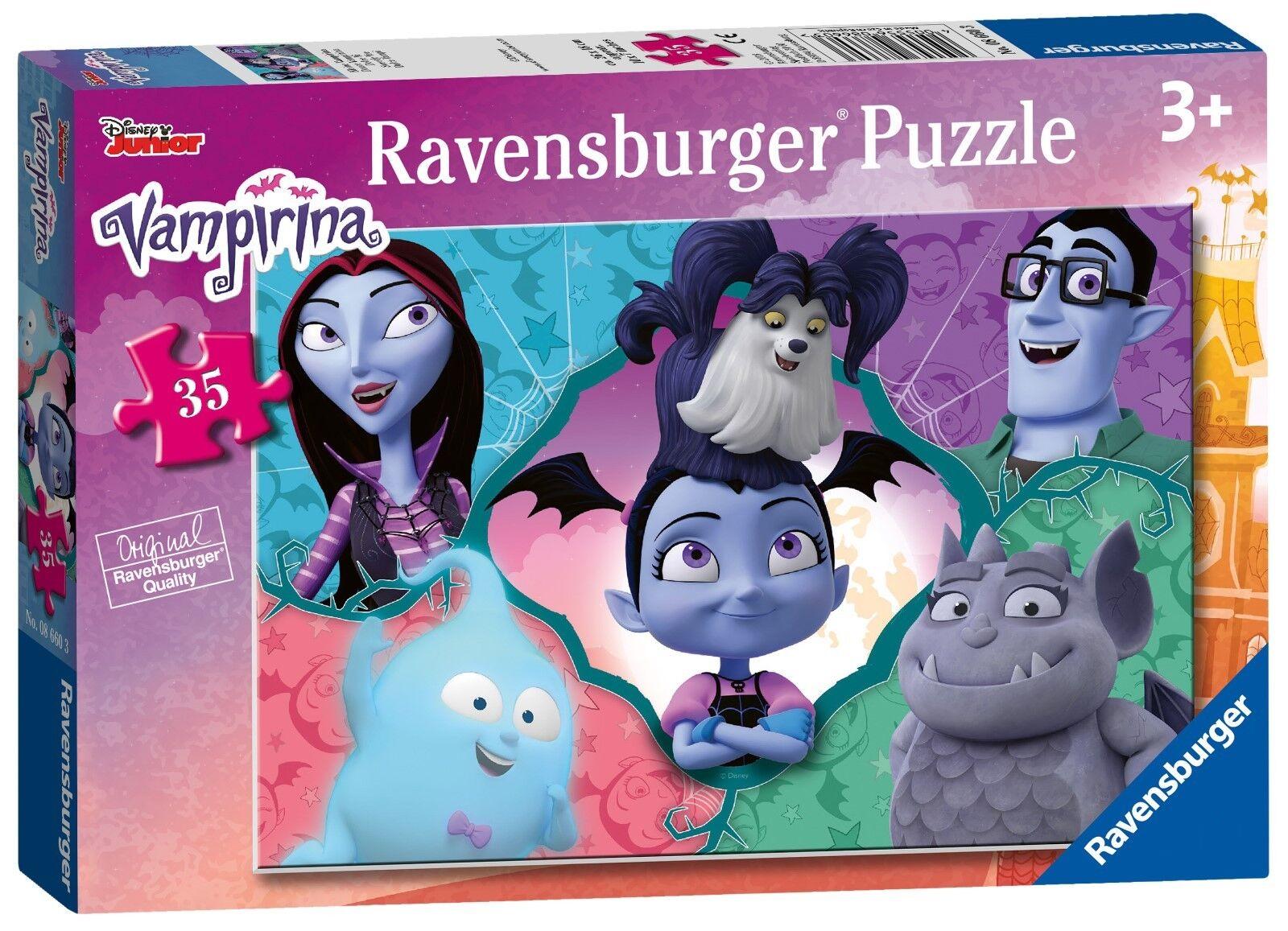 New! Ravensburger Vampirina 35 Piece Disney Jigsaw Puzzle 3+ 08660