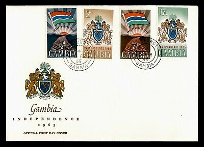 DR WHO 1965 GAMBIA FDC INDEPENDENCE  C239782