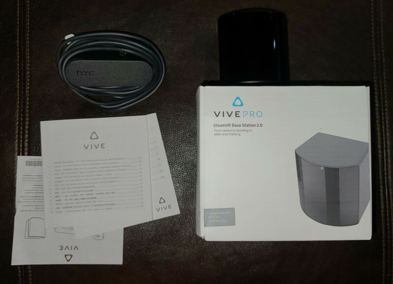 HTC SteamVR 2.0 Base Station - Black
