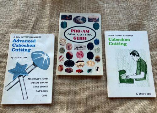 Cabochon Cutting - 3 Book Set