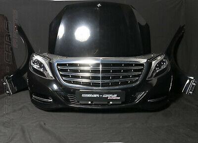 Mercedes W222 S-Klasse Front PAKET Motorhaube LED Scheinwerfer Stoßstange Träger