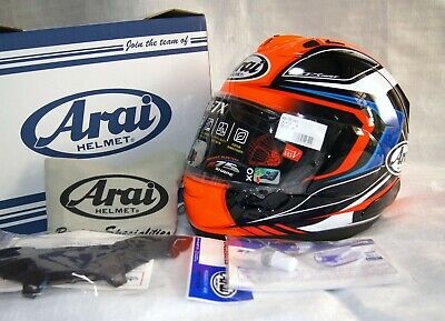 Arai full face helmet RX-7X CORSAIR-X BRACKET RX-7V MAZE red/black NEW 2019  Arai Rx 7 Corsair