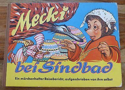 Mecki bei Sindbad (Hammerich & Lesser 1962) = Band 11 Wilhelm Petersen