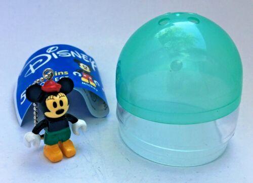 "Minnie Mouse Disney Block Figure Tomy Gacha Vending Toy 2"" Capsule New Figurine"