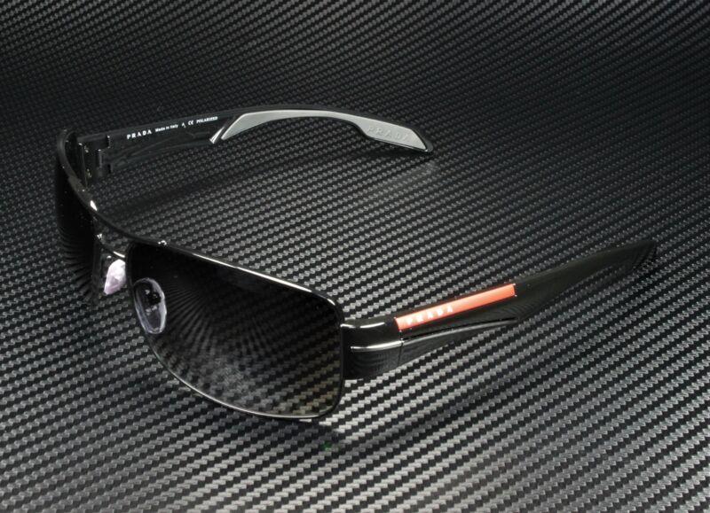 PRADA LINEA ROSSA PS 53NS 7AX5W1 Black Polarized Grey Gradient Men