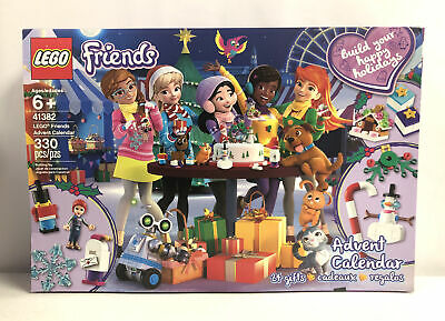 LEGO Friends 2019 Advent Calendar 41382 (330 Pieces) New In Damaged Box