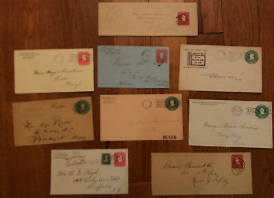 Group of 9 Hartford issue stationery better uses, destinations etc