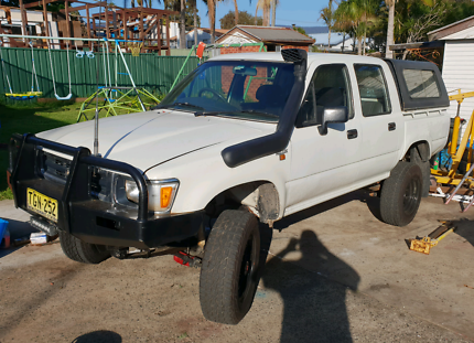 Toyota hilux 4x4 swap trade Dapto Wollongong Area Preview