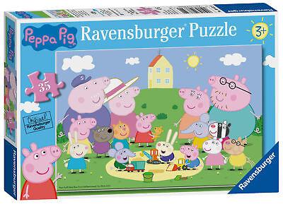 08632 Ravensburger Peppa Pig Jigsaw Puzzle Fun in the Sun 35pc Childrens - Jigsaw Pig