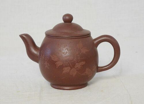 Chinese  Ceramic  Teapot  With  Studio  Mark      M3184