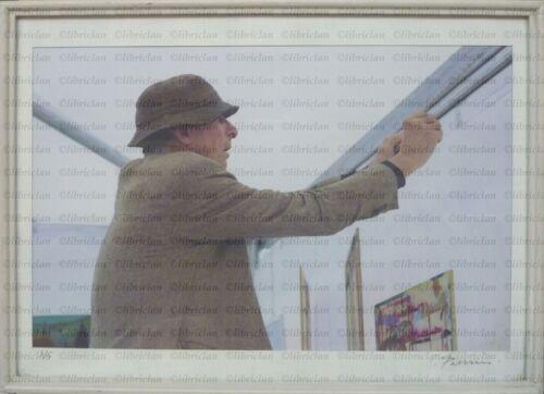 Original photo: italian radical architect LAPO BINAZZI (UFO) Ph. Claudio Parrini