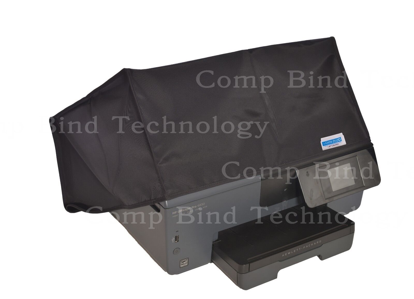 Hp Officejet 5740 Printer Black Nylon Dust Cover 185w X 167d Wire Harness Connector Oem Hp4550 167