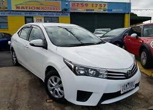 2015 Toyota Corolla Ascent ** Manual ** (Incl.Rego/RWC/Warranty) Dandenong Greater Dandenong Preview