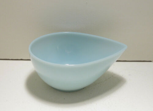 "Fire King Swedish Modern Turquoise Blue 5"" Mixing Bowl"