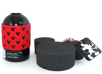 Disney Scented Bubble Bath Citrus Mint Mickey Mouse Sponge ()