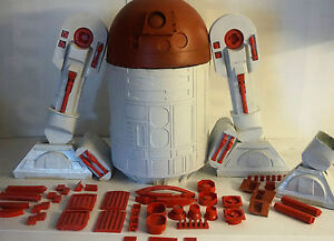 Star wars R2d2 Life Size 1-1 scale Prop with detail. 1-1 scale model kit