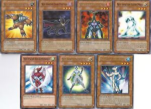 Yugioh Neo-Spacian Set - Neo-Spacian Grand Mole - Glow Moss - Air Hummingbird