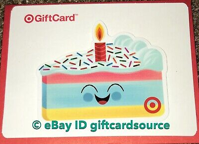 TARGET 2019 DIE CUT GIFT CARD HAPPY BIRTHDAY CAKE NO VALUE NEW COLLECTIBLE](Target Birthday Cakes)