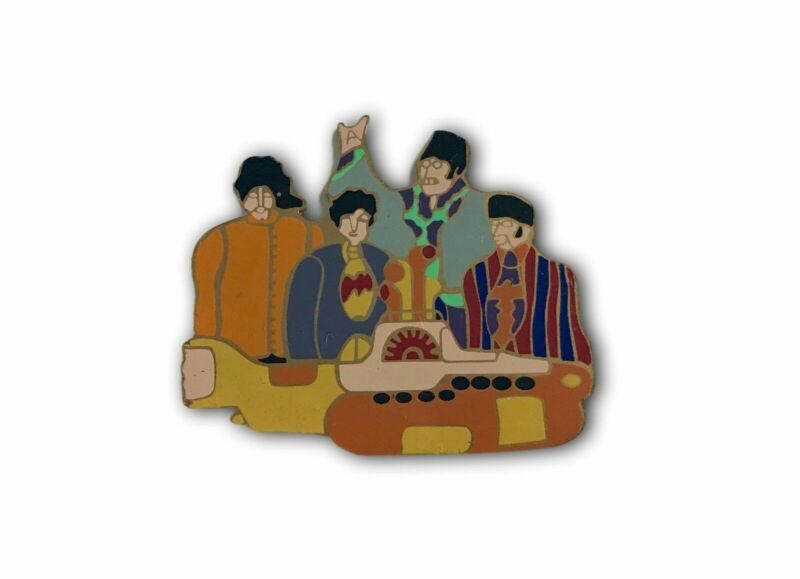 The Beatles Yellow Submarine Pin Face  - John Lennon Ringo George Harrison Paul