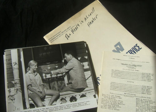 Original 1968 Press Kit THE HEART IS A LONELY HUNTER Carson McCullers 23 photos
