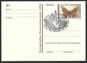 Postkarte m. Werteindruck &quot;Gr. Wiener Nachtpfauenauge&quot; SST 3140 Pottenbrunn 95 - <span itemprop=availableAtOrFrom>Graz, Österreich</span> - Postkarte m. Werteindruck &quot;Gr. Wiener Nachtpfauenauge&quot; SST 3140 Pottenbrunn 95 - Graz, Österreich