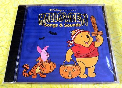Disney Halloween Music Cd (Halloween Songs & Sounds by Disney (CD, Sep-2001, Walt Disney) New Kids)