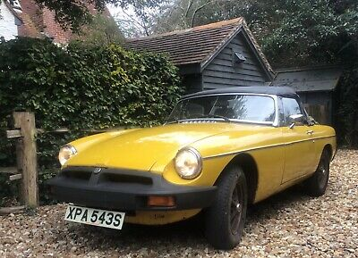 MGB MG Roadster 1978 reliable, usable classic, Tax and MOT exempt. No reserve.