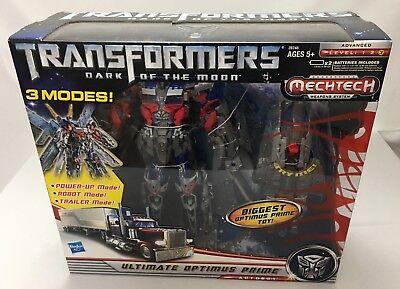 Transformers Dark Of The Moon Ultimate Optimus Prime Mechtech Hasbro 2011