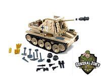 Custom Bricks WW2 Soldaten  M16 Flak Halftrack LEGO//COBI kompatibel