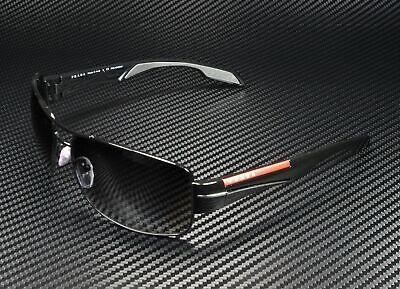 PRADA LINEA ROSSA PS 53NS 7AX5W1 Black Polarized Grey Gradient Men's Sunglasses