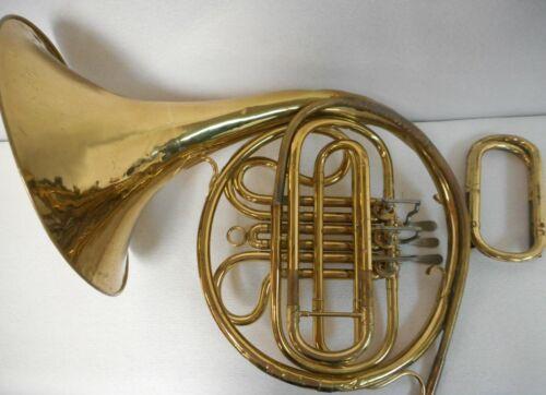 Vintage C.G. Conn Single French Horn