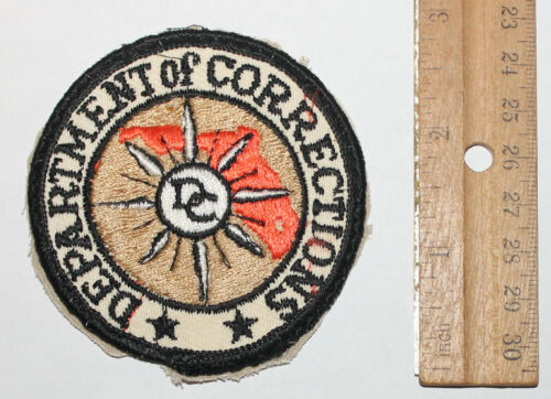 FLORIDA DOC DEPT OF CORRECTIONS FL State Penitentiary Prisons Used Worn patch