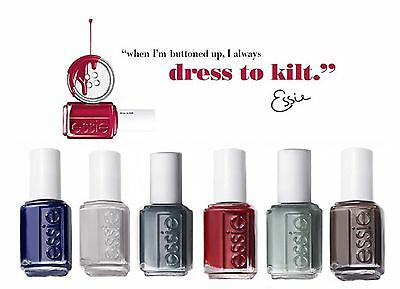 Polish Dress (Essie Nail Polish - FALL 2014 - DRESS TO KILT)