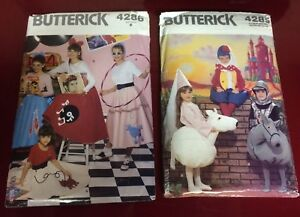 Costume Sewing Patterns For Sale - Never Used