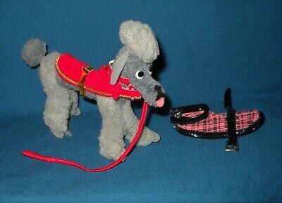 Viintage Barbie DOG & DUDS #1613..Poodle w/ 2 Coats & Red Leash 1964 Excellent
