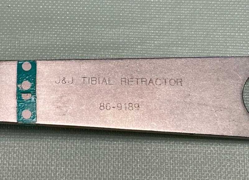 J&J 86-9189 Tibial Retractor
