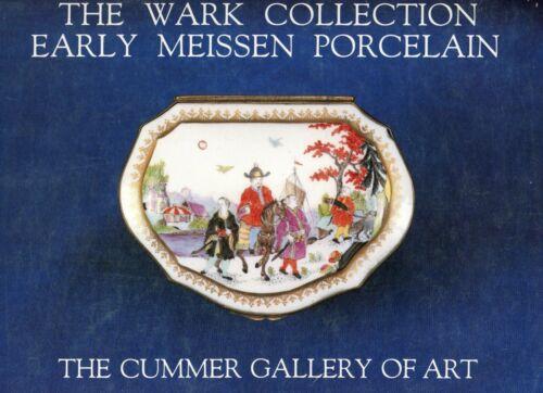 Antique Meissen Porcelain Identification - 693 Items Pictured / Scarce Book