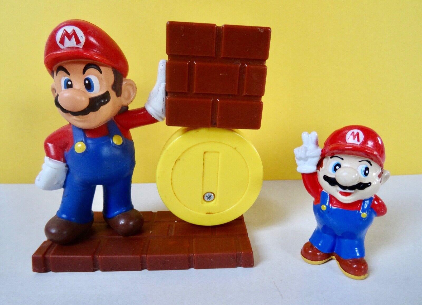2 x Nintendo Super Mario Figur